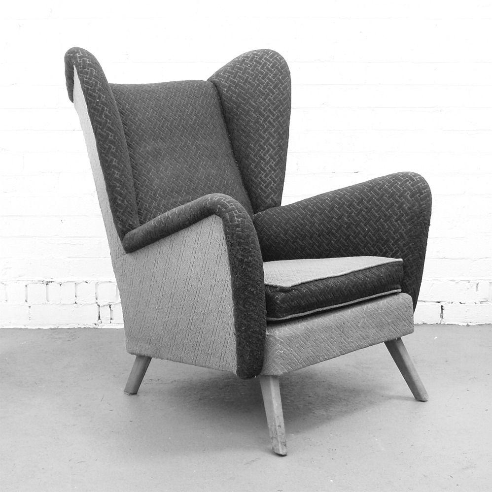 Winter's Moon — Bespoke Vintage Wing Chair
