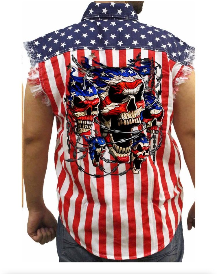 eb6c07267a9 Mens sleveless denim just in time for 4th of July! Free Shipping for orders  over  50!!! shoretrendz.com