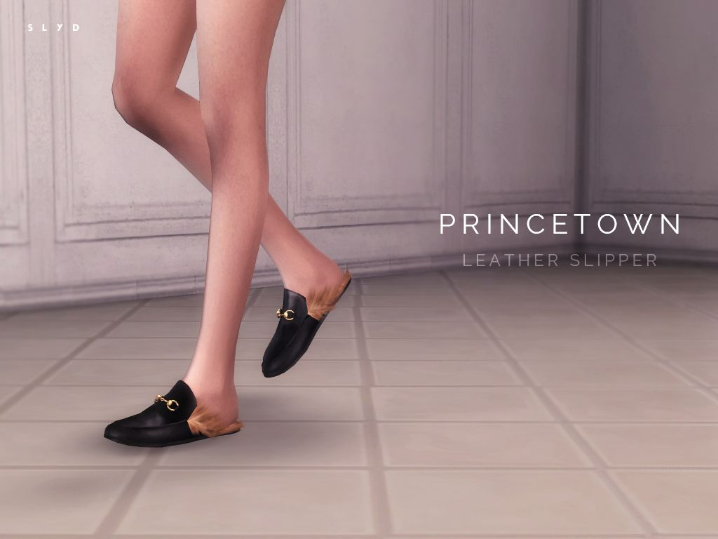 Leather Slipper - PRINCETOWN (Gucci) by SLYD.
