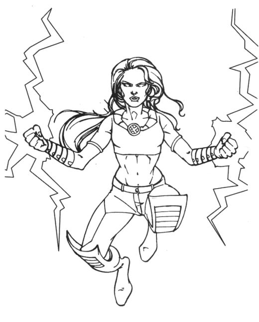 The Strength Of The Storm Coloring Pages X Men Coloring Pages Kidsdrawing Free Coloring Pages Online Coloring Pages Free Coloring Pages Coloring Pictures