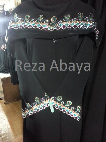 Multi Swarovski Stone Design Abaya Islamic Clothing Abaya Stone Design