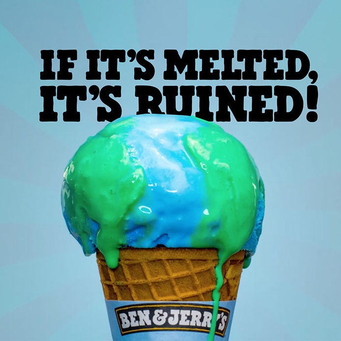 Ben Amp Jerry S Call For Participation In Youth Climate Change March Climate Change Poster Climate Change Design Climate Change Art