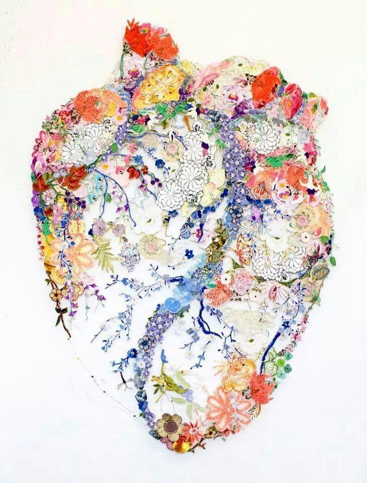 Anatomical Heart Art | ORGAN | Pinterest | Mi corazón, El corazon y ...