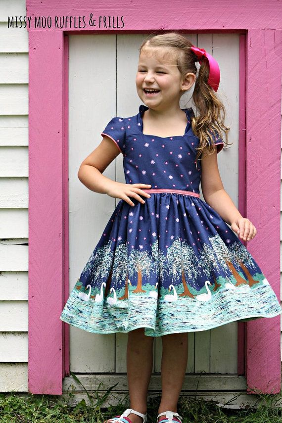 Billie Party Dress size 1-12 (Ainslee Fox Boutique Pattern ...