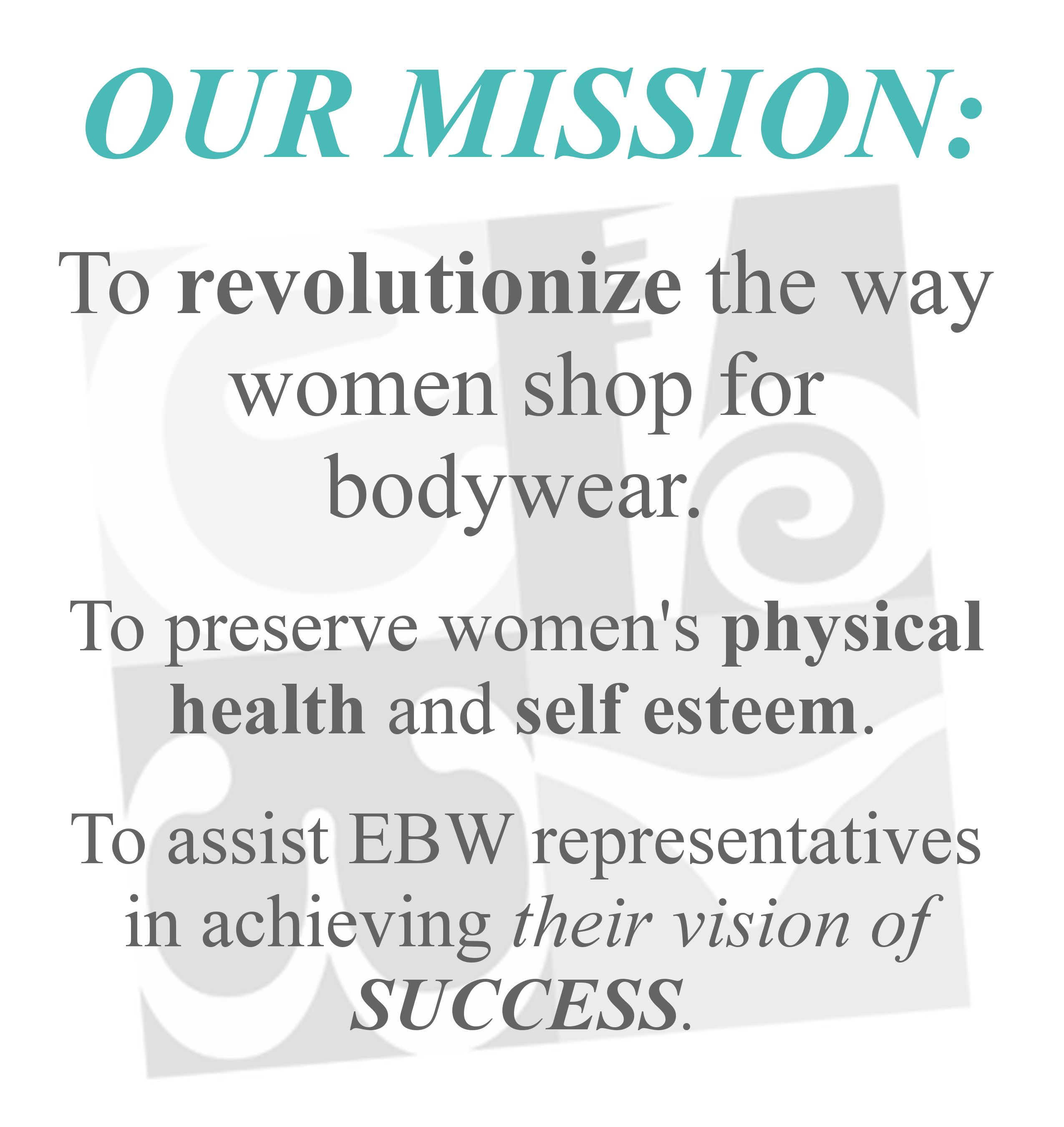 efbbd845f84 EBW works everyday to change the world women live in and change their  lives. We couldn't love what we do more <3