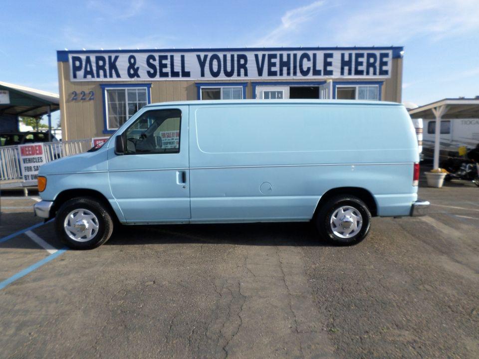 Cargo Van For Sale By Owner >> 2005 Ford F150 Econoline Cargo Van Van For Sale Vans