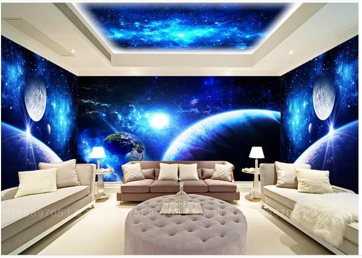 22 Space Themed Room Design Ideas For A New Atmosphere In