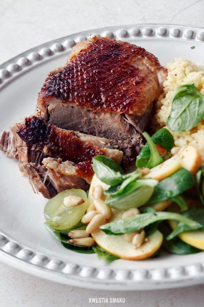 Pieczona Piers Kaczki Przepis Food Recipes Japanese Duck Recipe