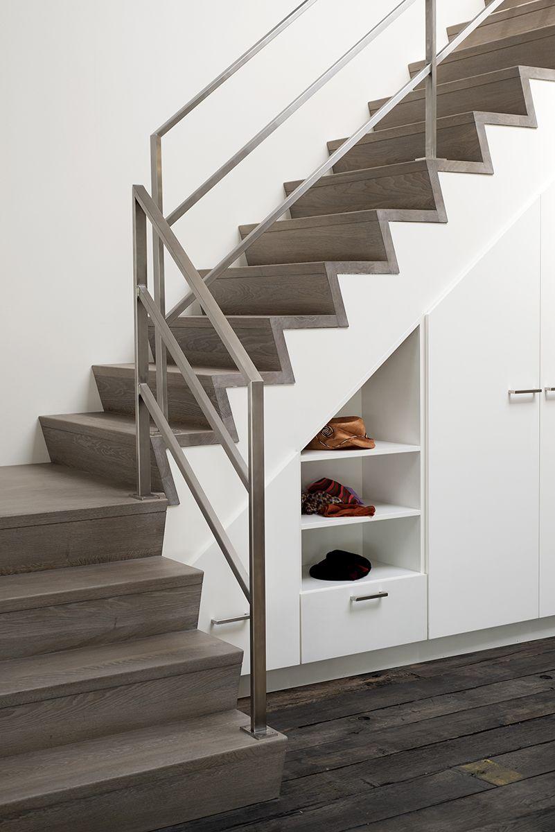 Best Designtrap Met Bordes Z Treden En Inox Leuning Trappen 400 x 300