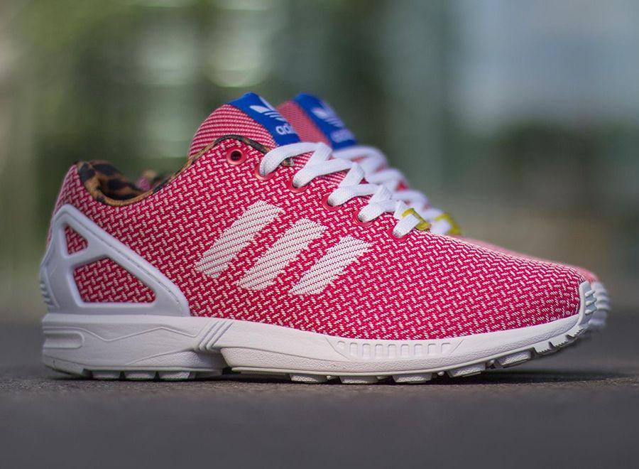 adidas zx flux weave w rose
