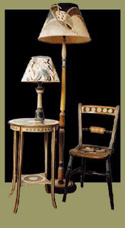 Bloomsbury Interiors Interior Lampshade Designs Painted Furniture