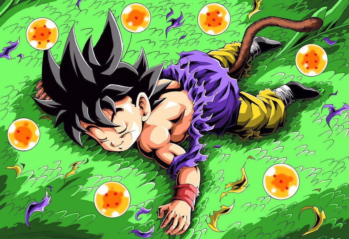 Pin By Bigreader On Goku Bambino Anime Dragon Ball Dragon Ball Wallpapers Dragon Ball Gt