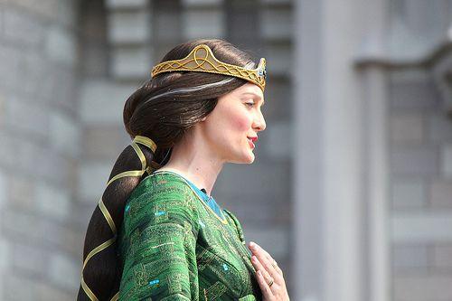 Queen Elinor - SO cool!!! #insidethemagic #brave #pixar