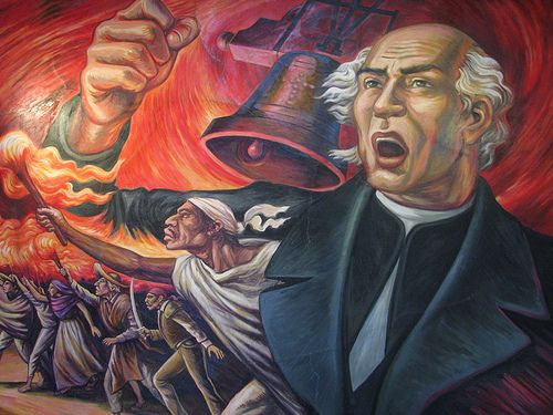 Did You Know The Eve Of Mexican Independence Day Is Called El Grito De Dolores The Day Of The C El Grito De Dolores Miguel Hidalgo Fotos De Miguel Hidalgo