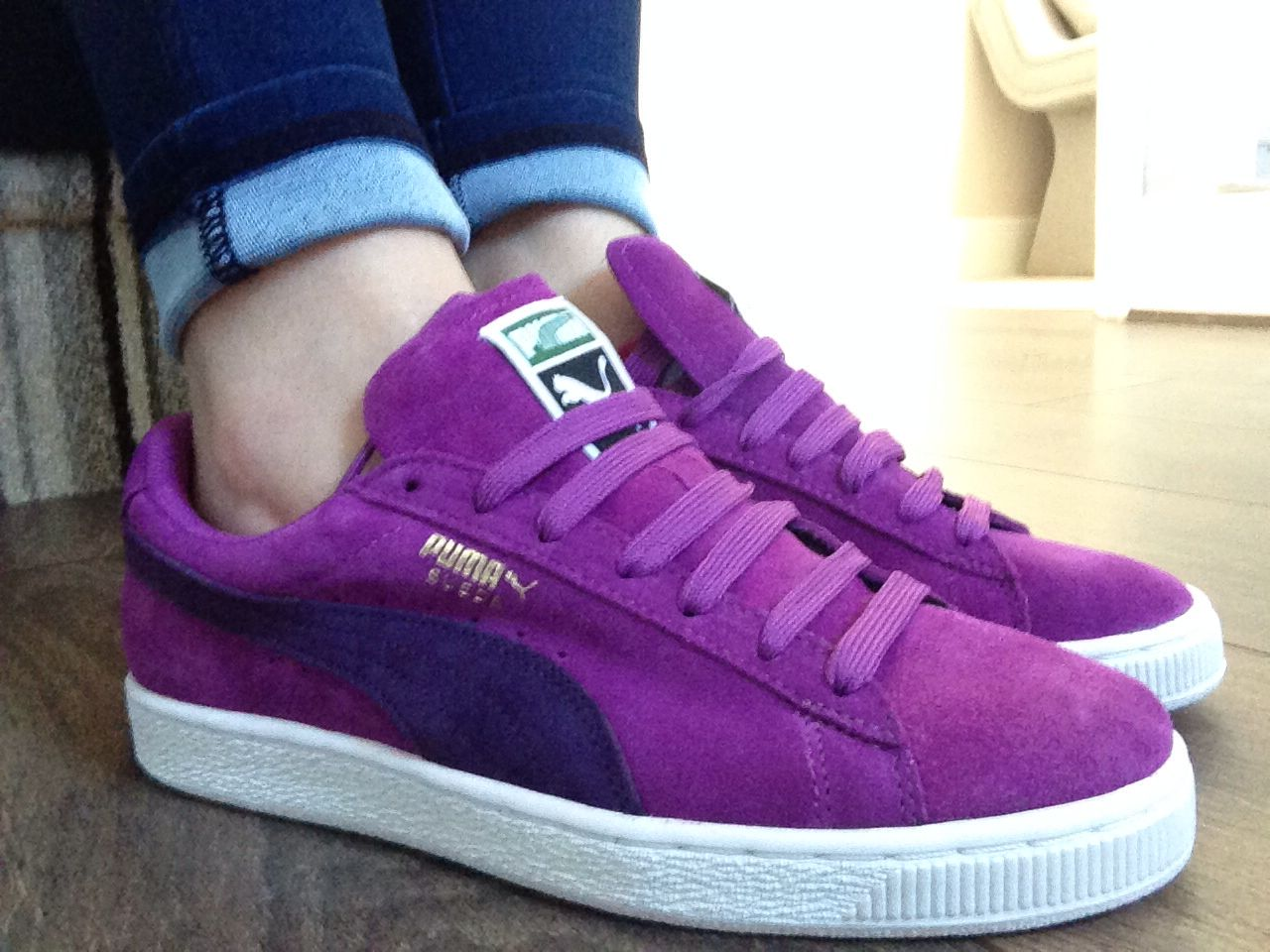 best service d9e79 65f47 Purple puma suede | Products I Love in 2019 | Pumas shoes ...