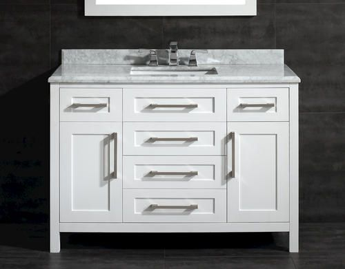 48u0027u0027 Malibu Vanity Ensemble (No Mirror) ($799, Menards)