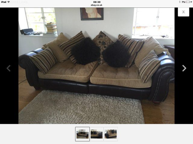 SOFAS *2 for sale For Sale in Liverpool, Merseyside | Preloved