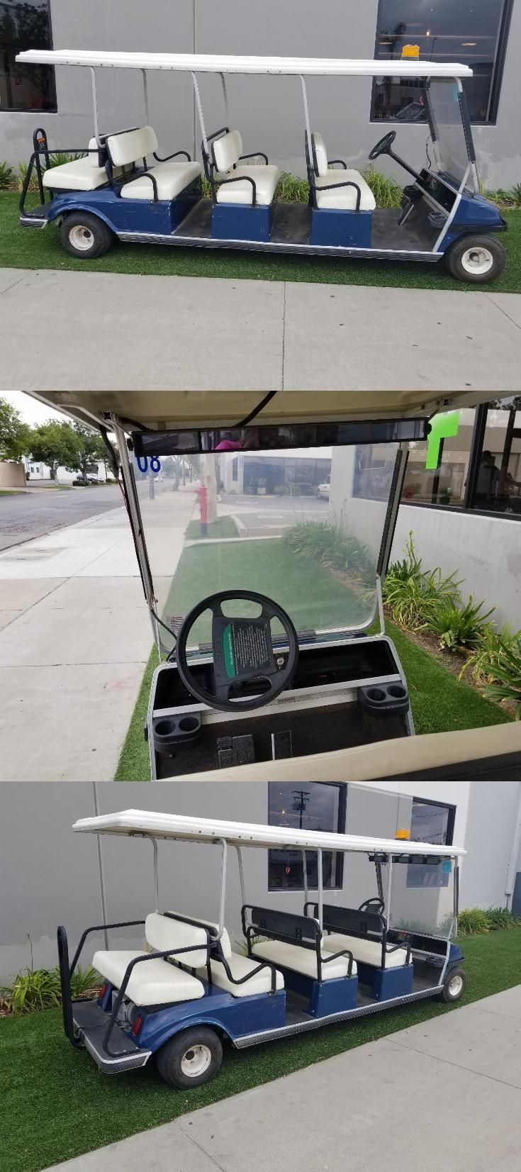 ready to drive 2002 Club Car Villager 8 Passenger golf