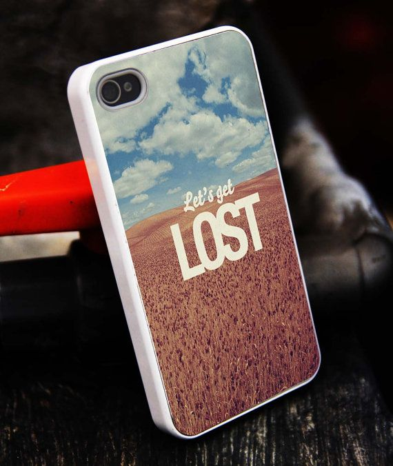 Let's Get Lost iPhone 5S caseiphone 5 caseiPhone by tigerredcase, $14.97