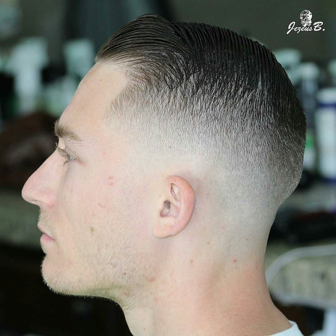Pomade Hairstyles Endearing Brilliantly Blended #midtaper With A #sidepart