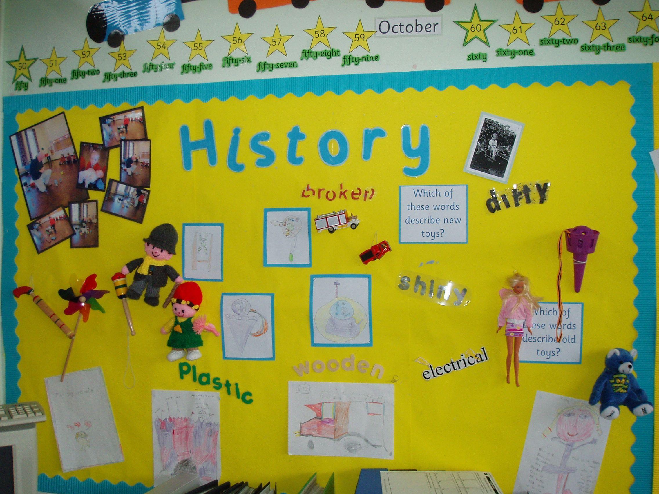 Toys History Display