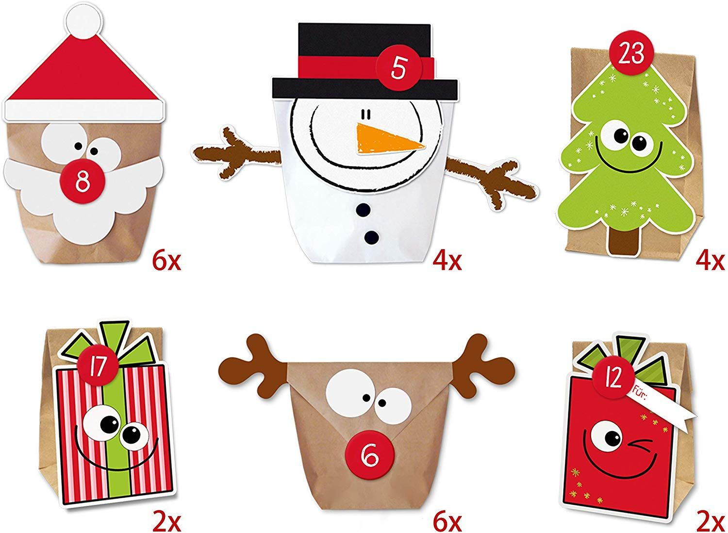 Amazon.de KuschelICH DIY Adventskalender Set Mix zum