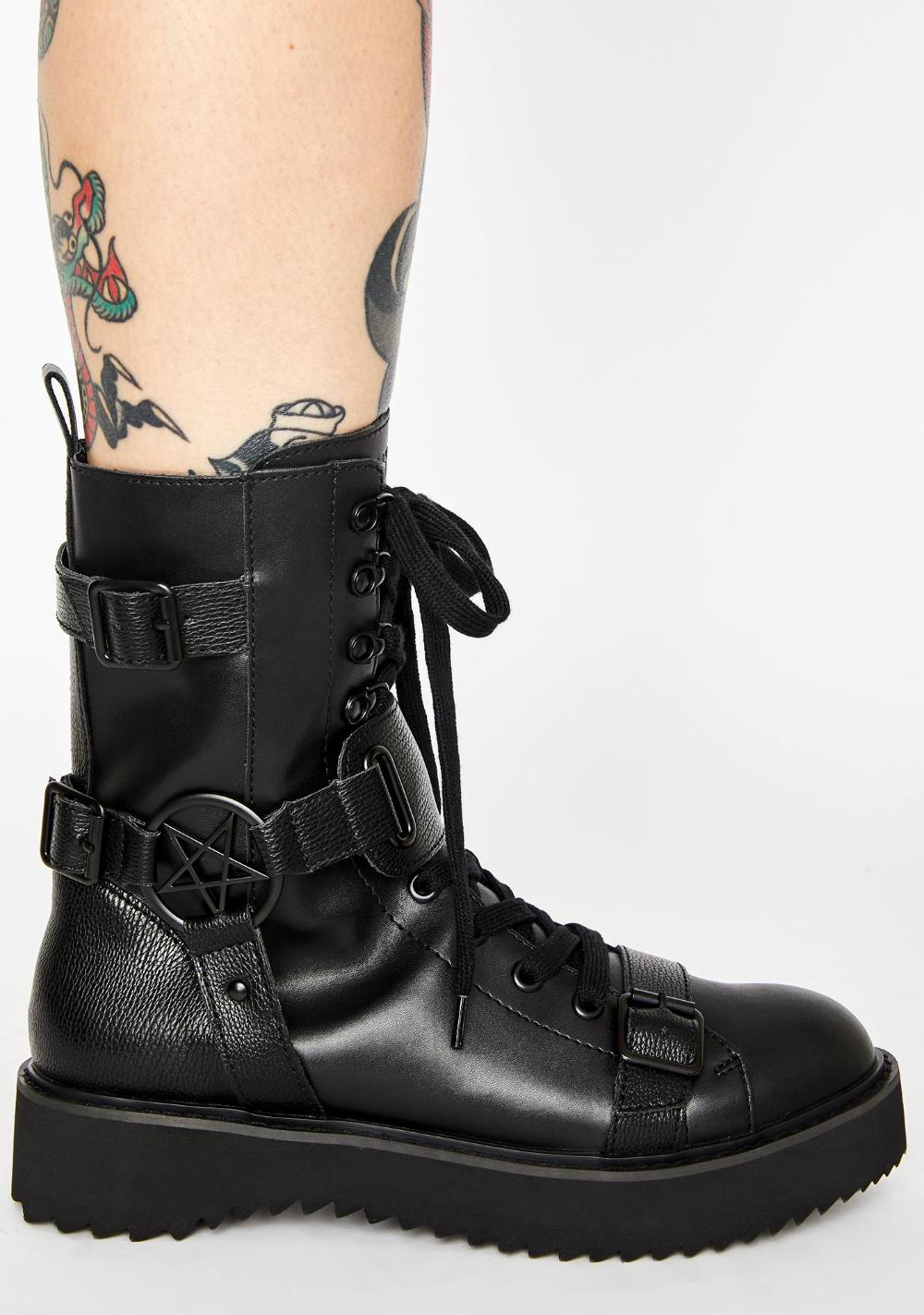 Eris Combat Boots | Killstar