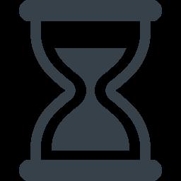砂時計のイラストアイコン素材 2 商用可の無料 フリー のアイコン素材をダウンロードできるサイト Icon Rainbow アイコン素材 砂時計 アイコン