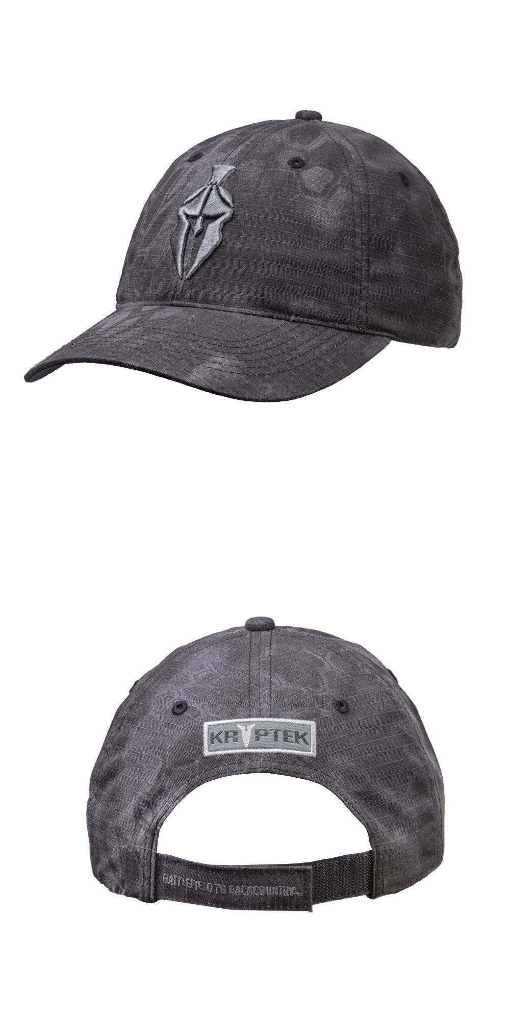 3461db87ac601 Clothing Shoes and Accessories 36239  Kryptek Spartan Logo Hat Cap Typhon  Black