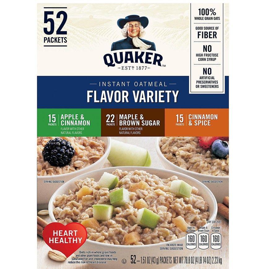 Quaker Oats Flavor Variety Empaque 2 23 Kilos Avena Quaker Avena