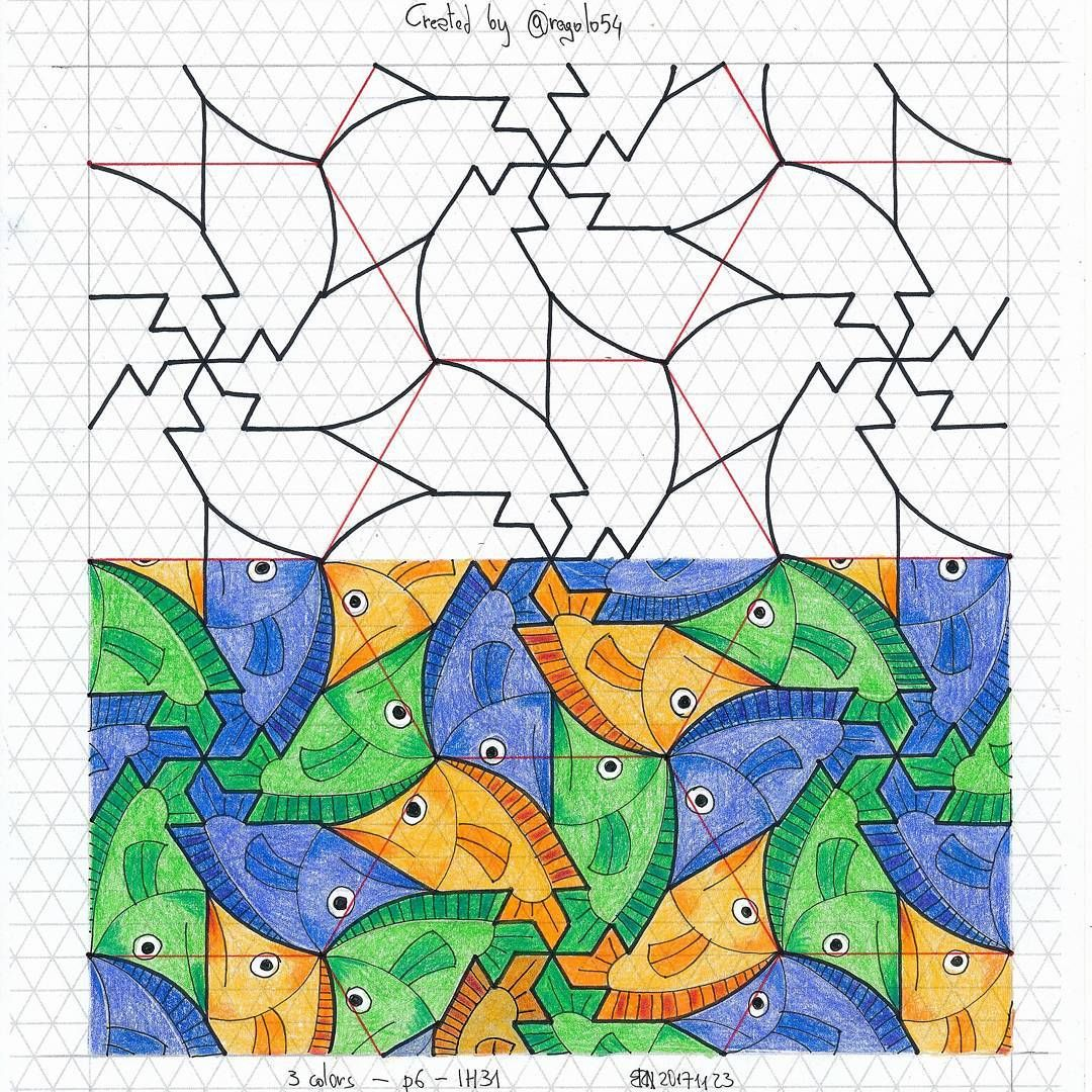 Tessellation Tiling Wallpaper Geometry Symmetry
