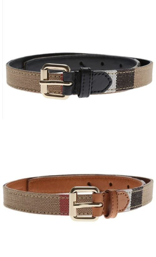 5cca08280ed1 ... wholesale belts and belt buckles 57918 nwt new burberry ca1 kids nova  check belt brown or