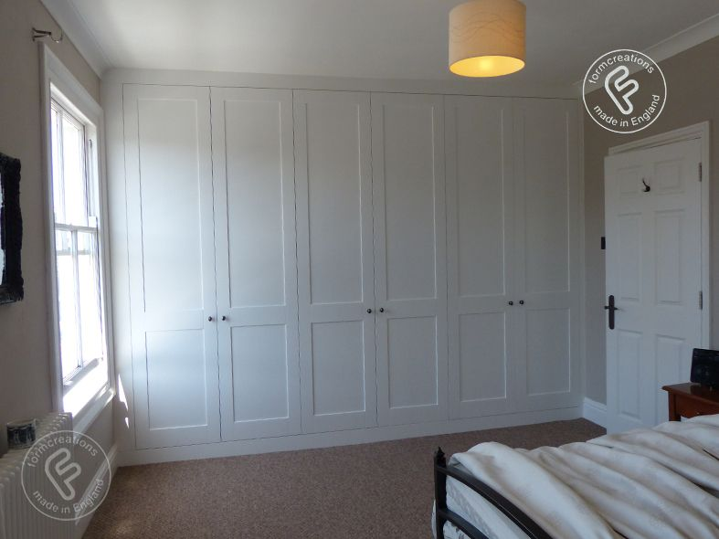 shaker style wardrobes - formcreations:made to measure built in