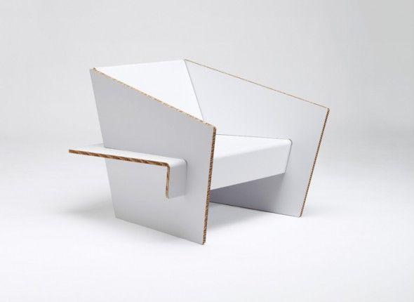 Cardboard Furniture Showroom Finland Design En Carton Meuble En Carton Chaise En Carton