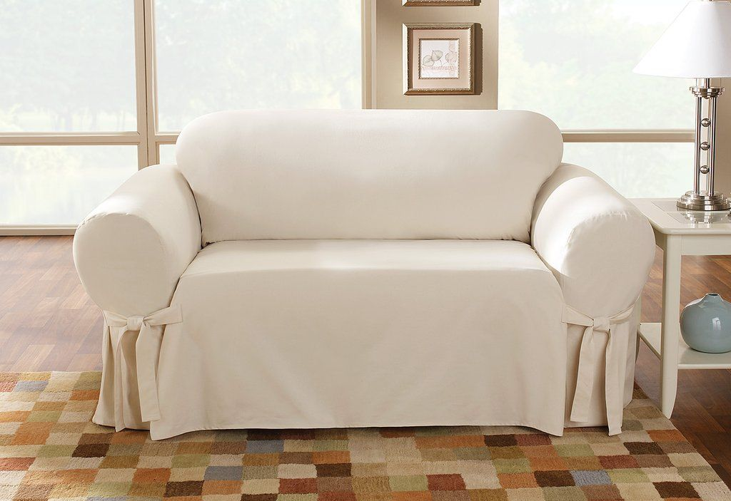 Pin On White Loveseat Cover