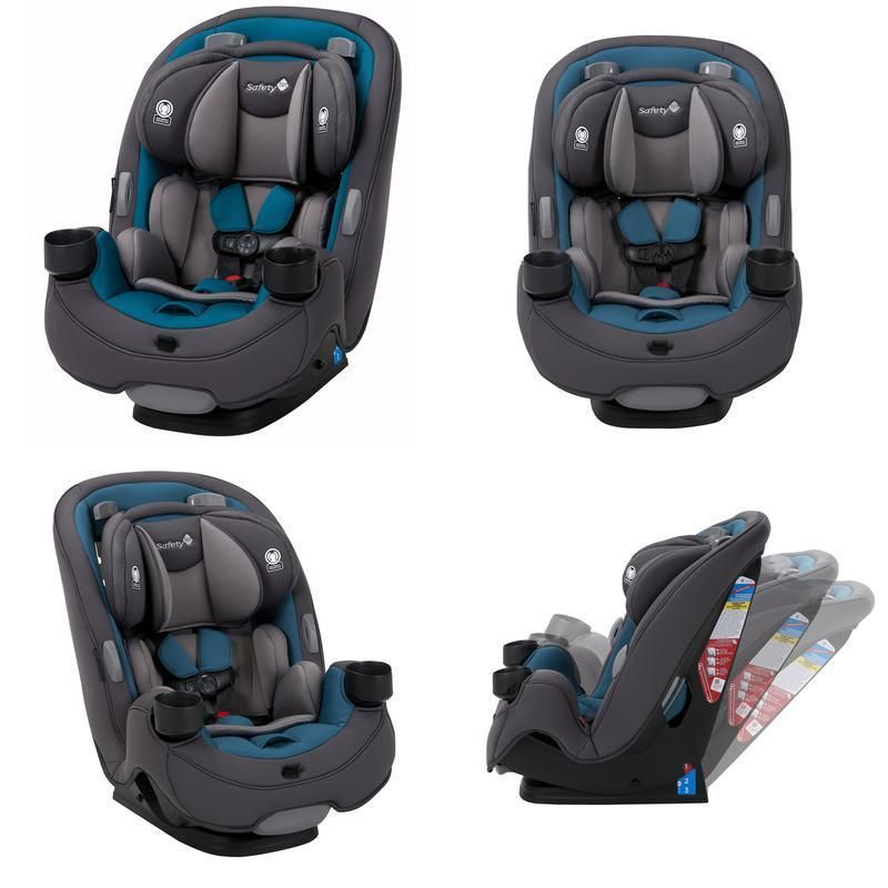 Safety 1st grow and go 3in1 convertible car seat blue