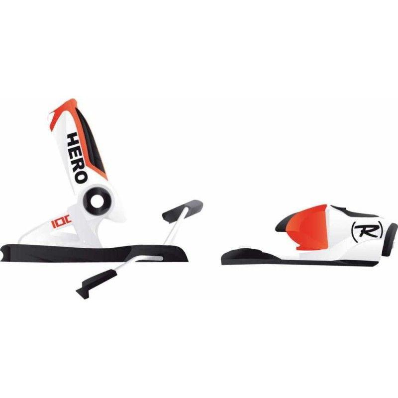 Rossignol Axial3 100 Ski Bindings -- White/red