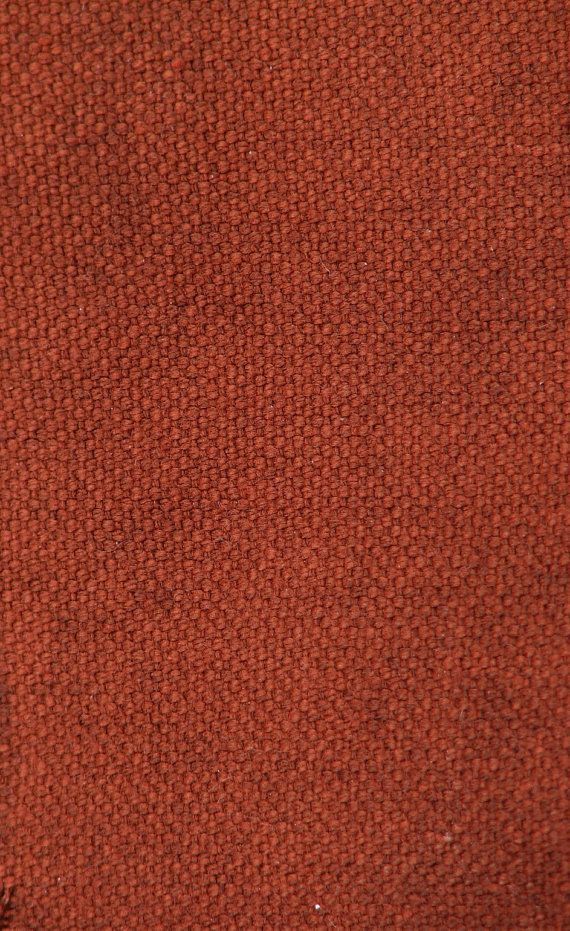 1 Yard Hand Waxed Canvas Fabric In Copper 1 Yard By Alfrancesdesigns