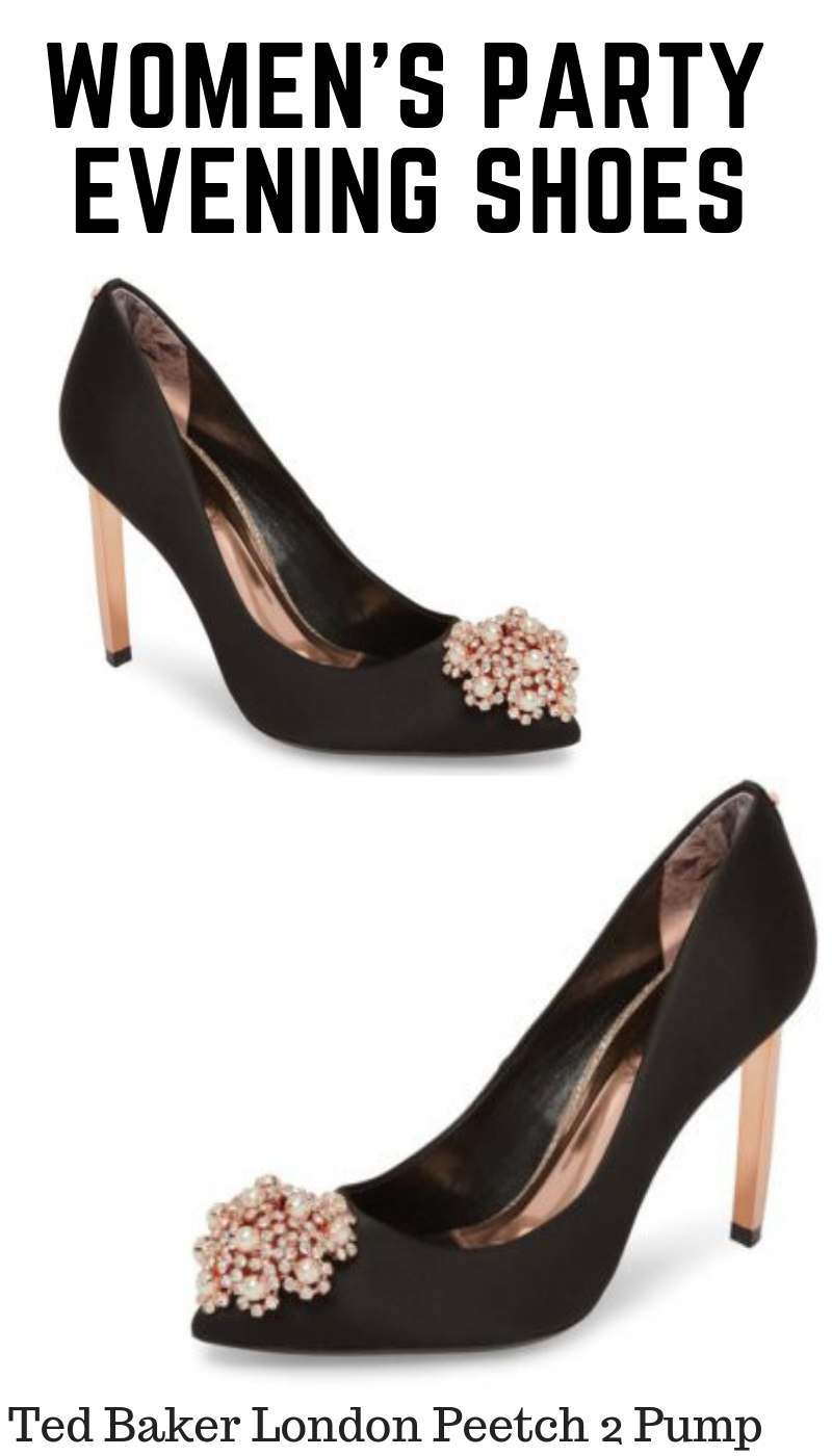 a3e74526d8 Ted Baker London Peetch 2 Pump Special Occasion Shoes, Ladies Party,  Evening Shoes,
