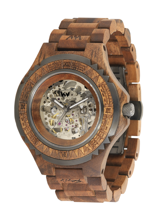 Wewood Marsh Nut Automatic Wooden Watch Wewood Watches Watches For Men