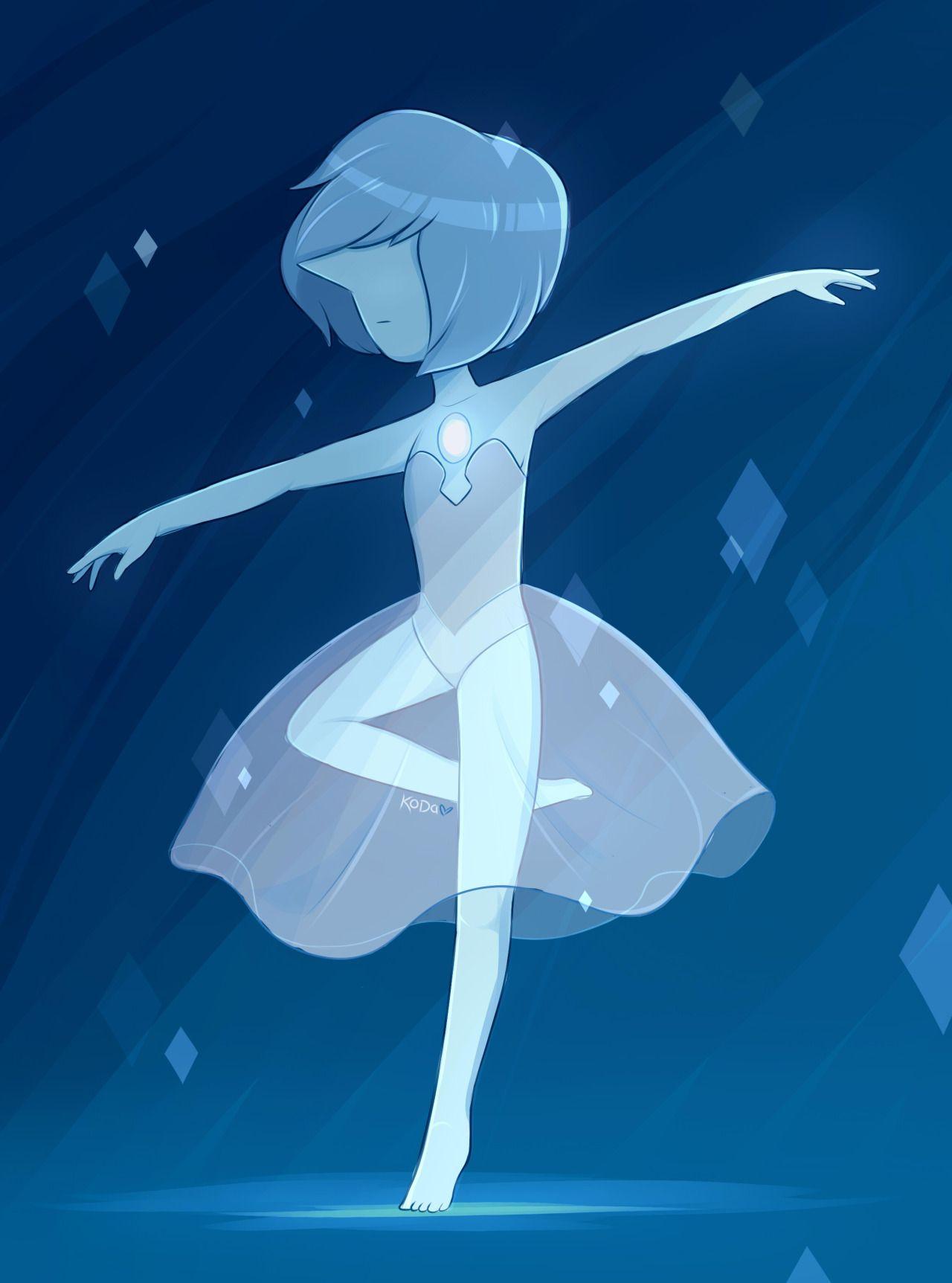 blue pearl | StevenUniverse | Pinterest | Diamantes azules, Pinturas ...