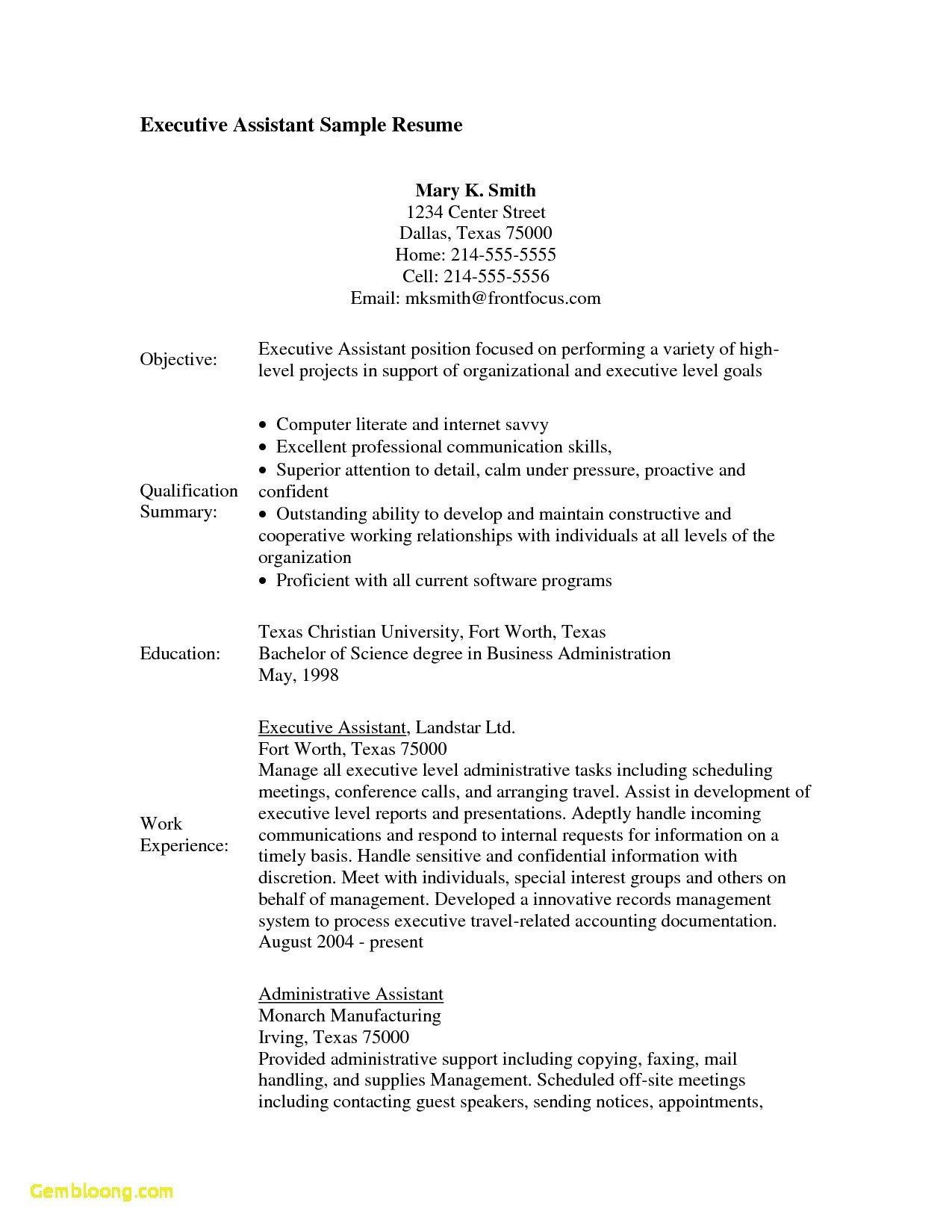 32 New Office assistant Resume Sample Pdf in 2020 (With