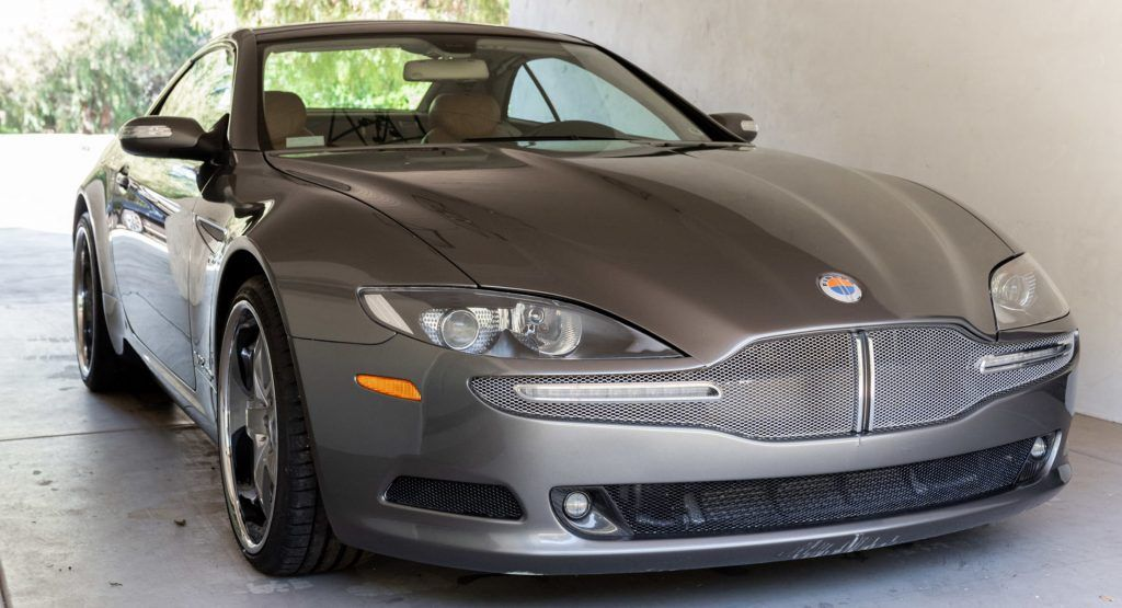 This 2006 Fisker Tramonto V12 Is A Mercedes SL With A Fancy Bodysuit | Carscoops