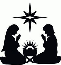 Resultado De Imagen Para Pesebres Navidenos Infantiles Siluetas De Navidad Siluetas Navidenas Manualidades Navidad