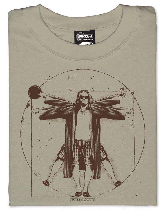 Vitruvian Dude T-shirt abides good fashion sense | Gear