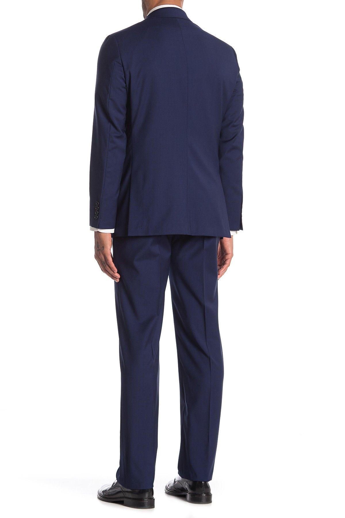 Hickey Freeman | Milburn IM Series Blue Classic Fit Wool Suit #nordstromrack