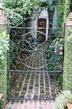 William Aiken House Wedding By Virgil Bunao Garden Doors Garden