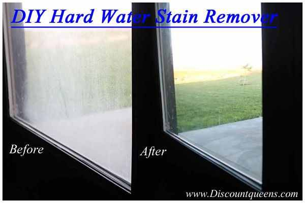 Diy Rust Stain Removal Recipe Hard Water Stain Remover Hard