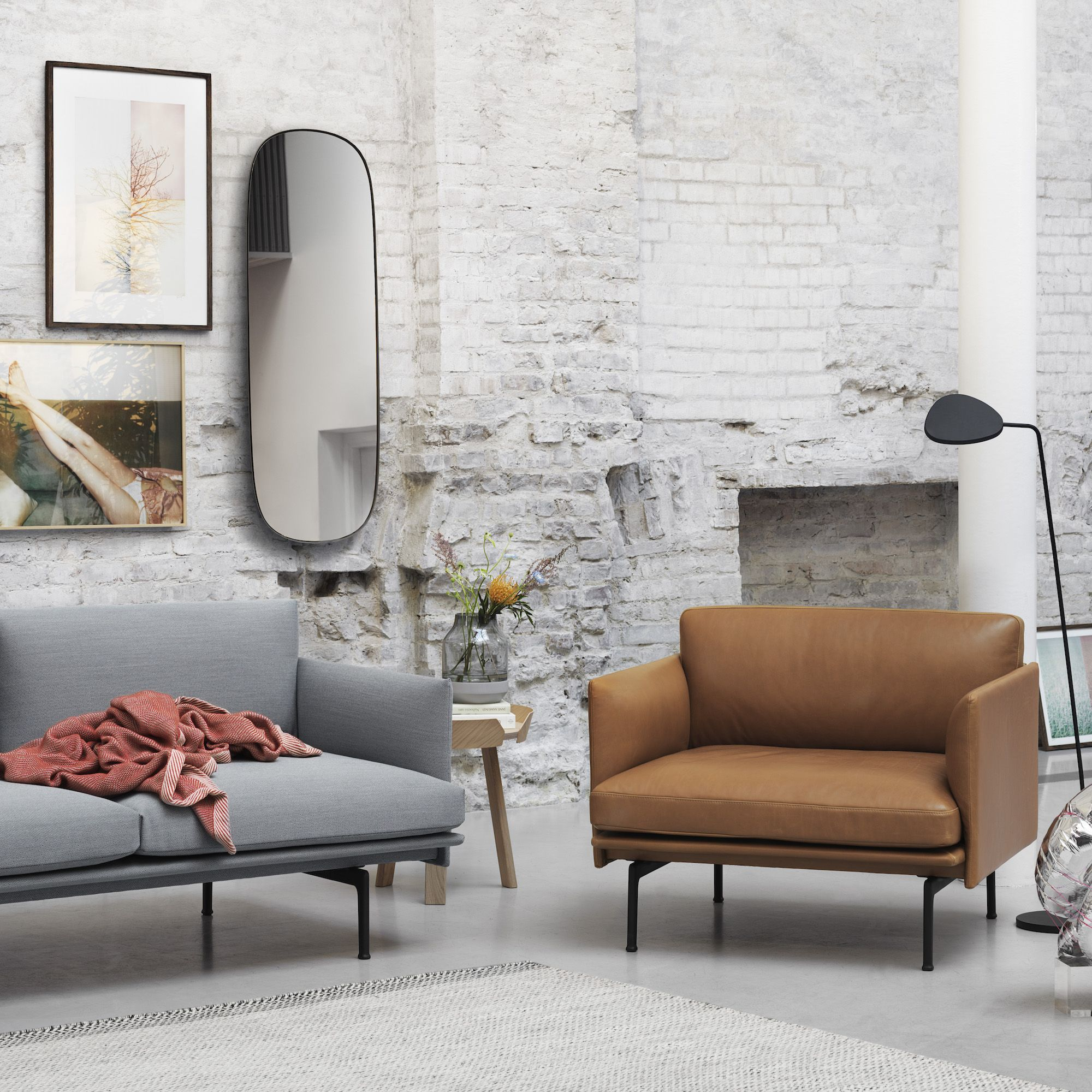Muuto - OUTLINE Chair & Sofa | Flat | Pinterest | Outlines, Deep ...