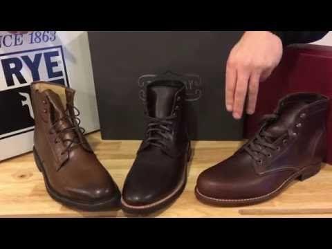 993432a814c Frye vs Thursday vs Wolverine Boots - YouTube | !!Footwear-Men ...